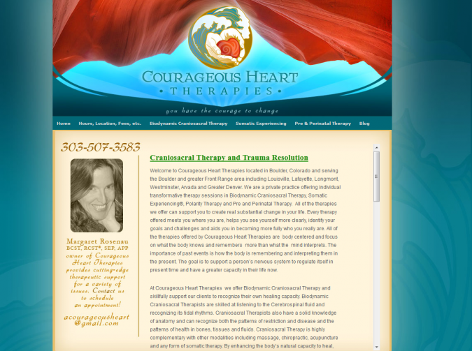 Courageous Heart – Biodynamic Craniosacral Therapy